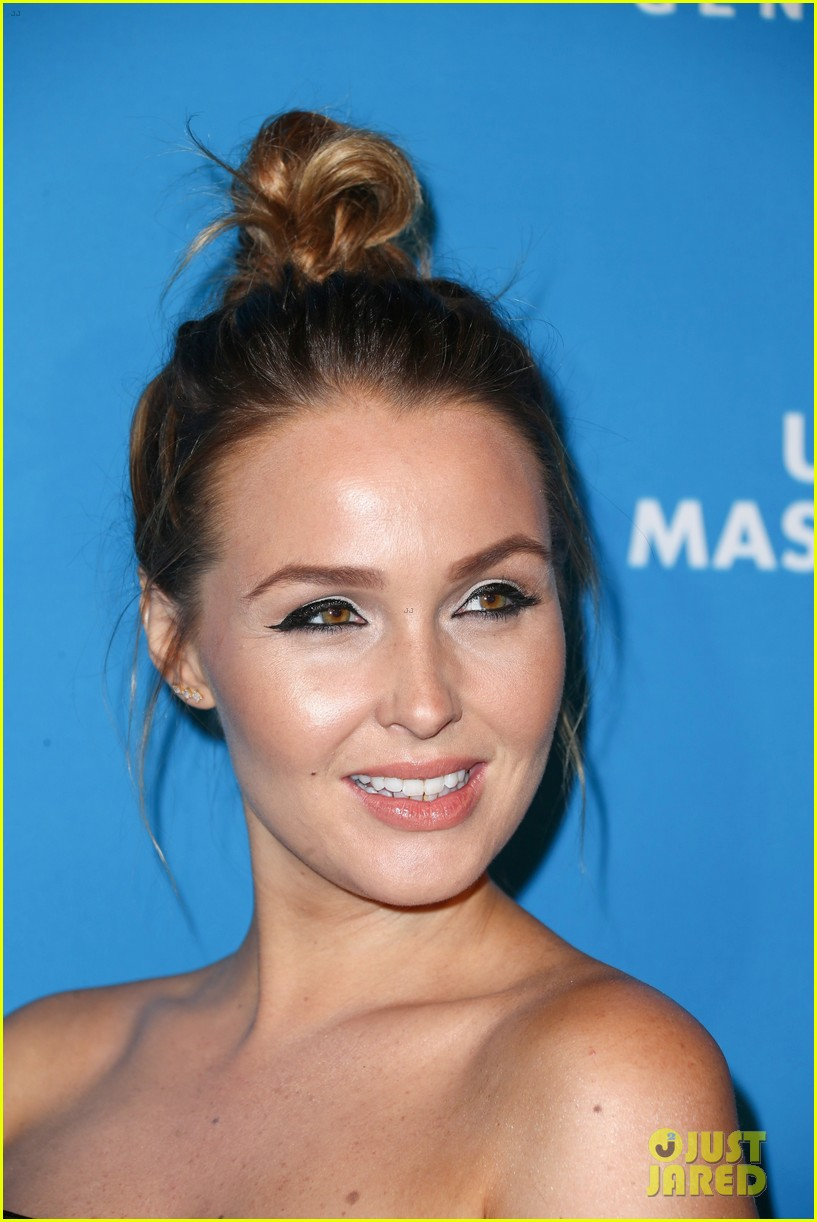 camilla luddington ahna oreilly glam up for halloween masquerade ball 173796295