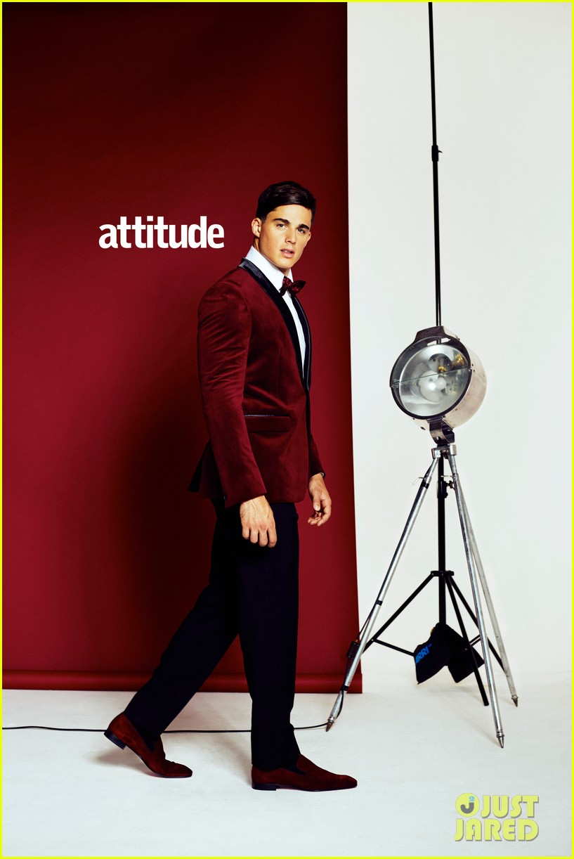 Wentworth Miller Shares Touching Message With 'Attitude' Mag