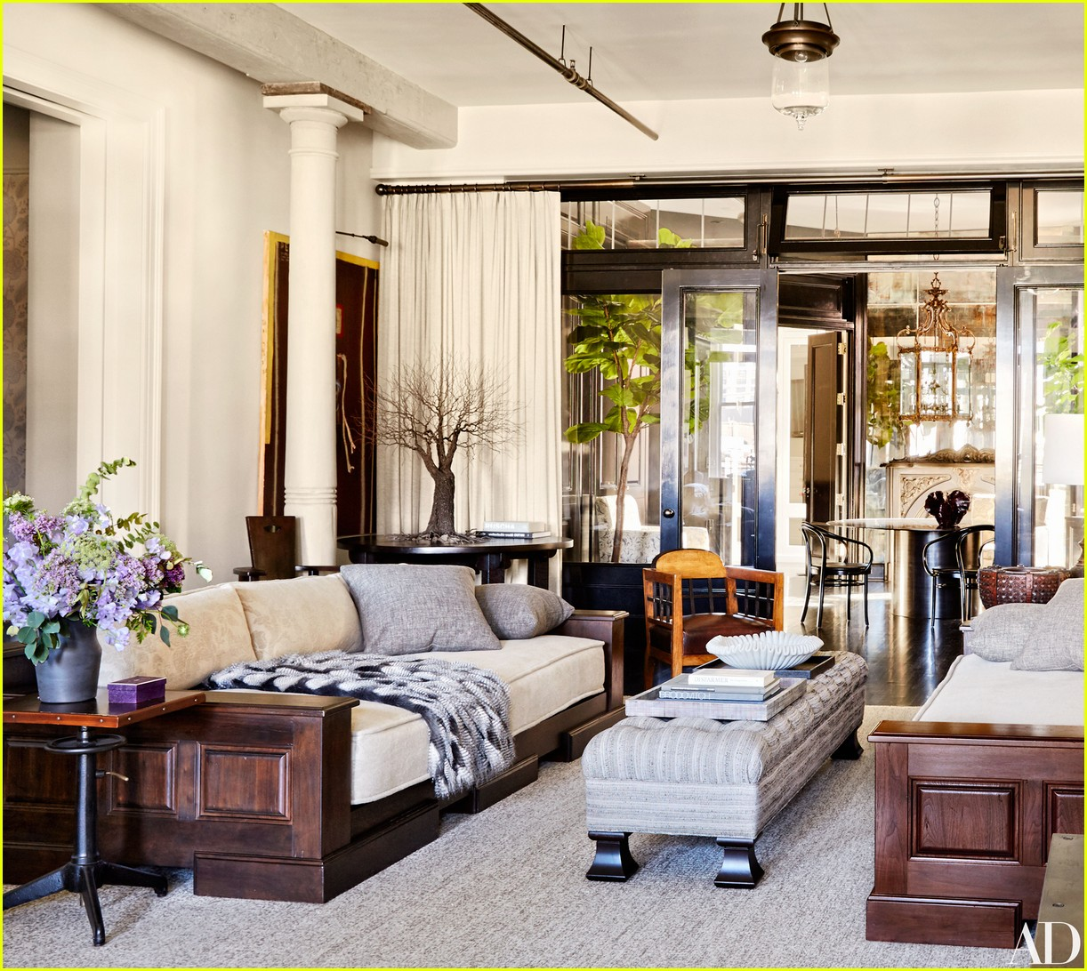 Meg Ryan Shows Off Stunning Soho Loft In 'Architectural