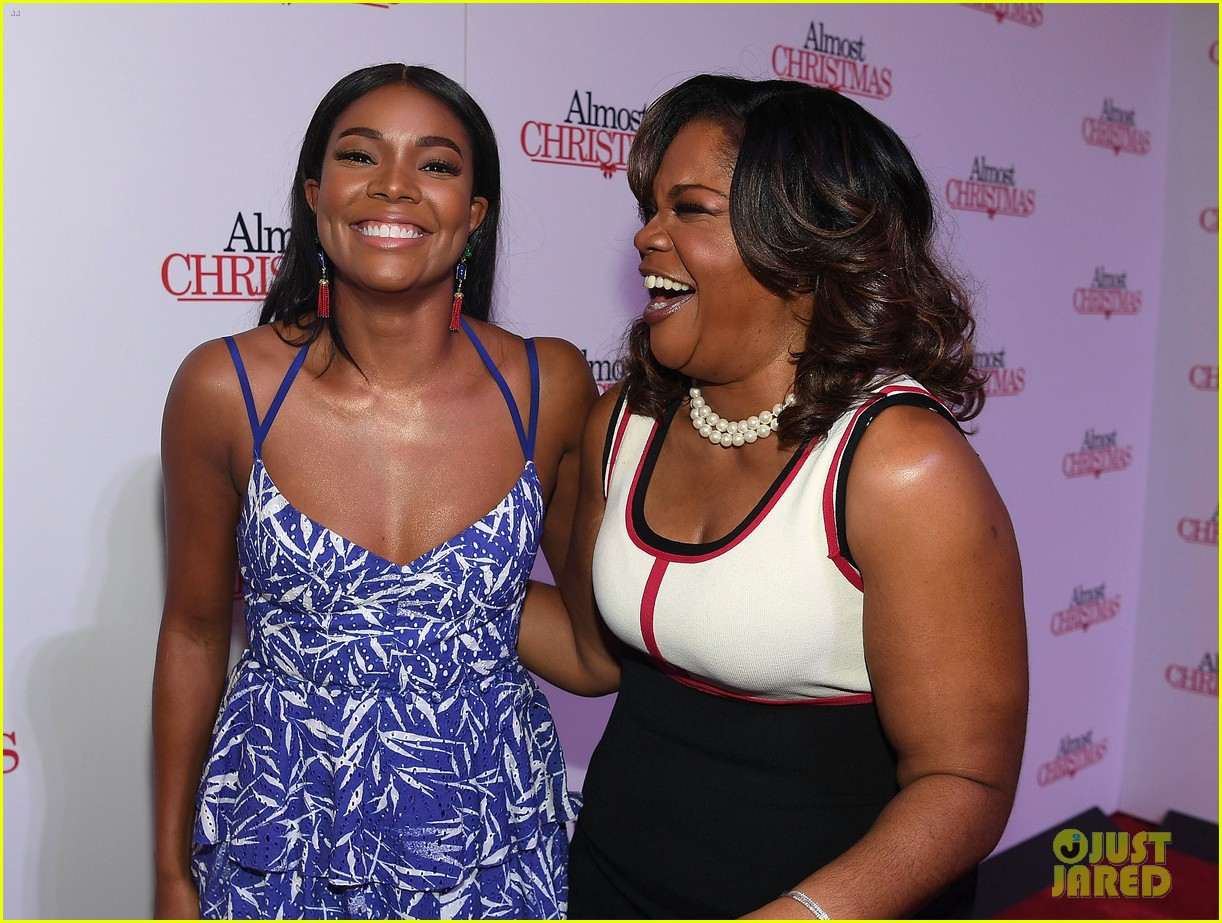 gabrielle union celebrates birthday at almost christmas atlanta premiere 143794912