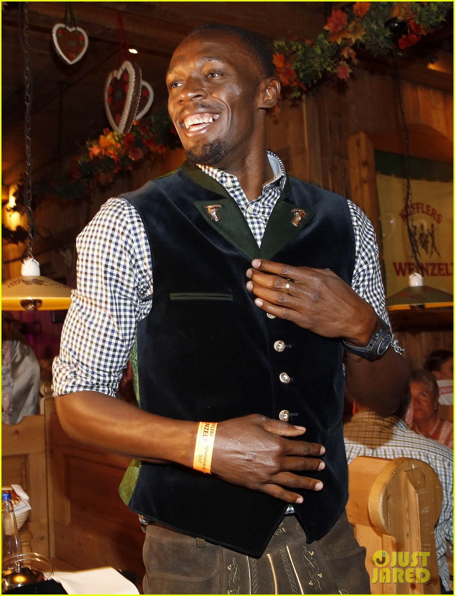 usain bolt oktoberfest germany beer 013776088