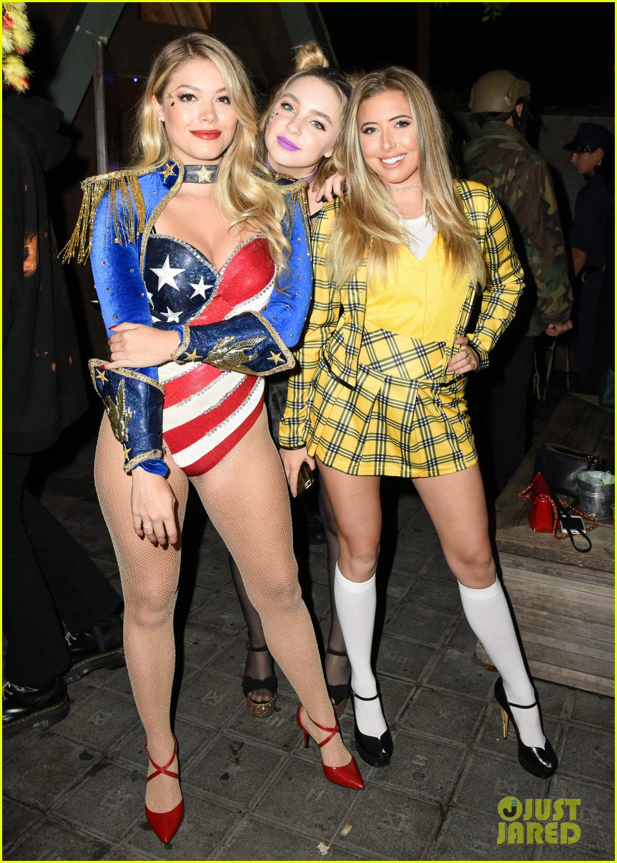 ariel winter just jared halloween party 093798356