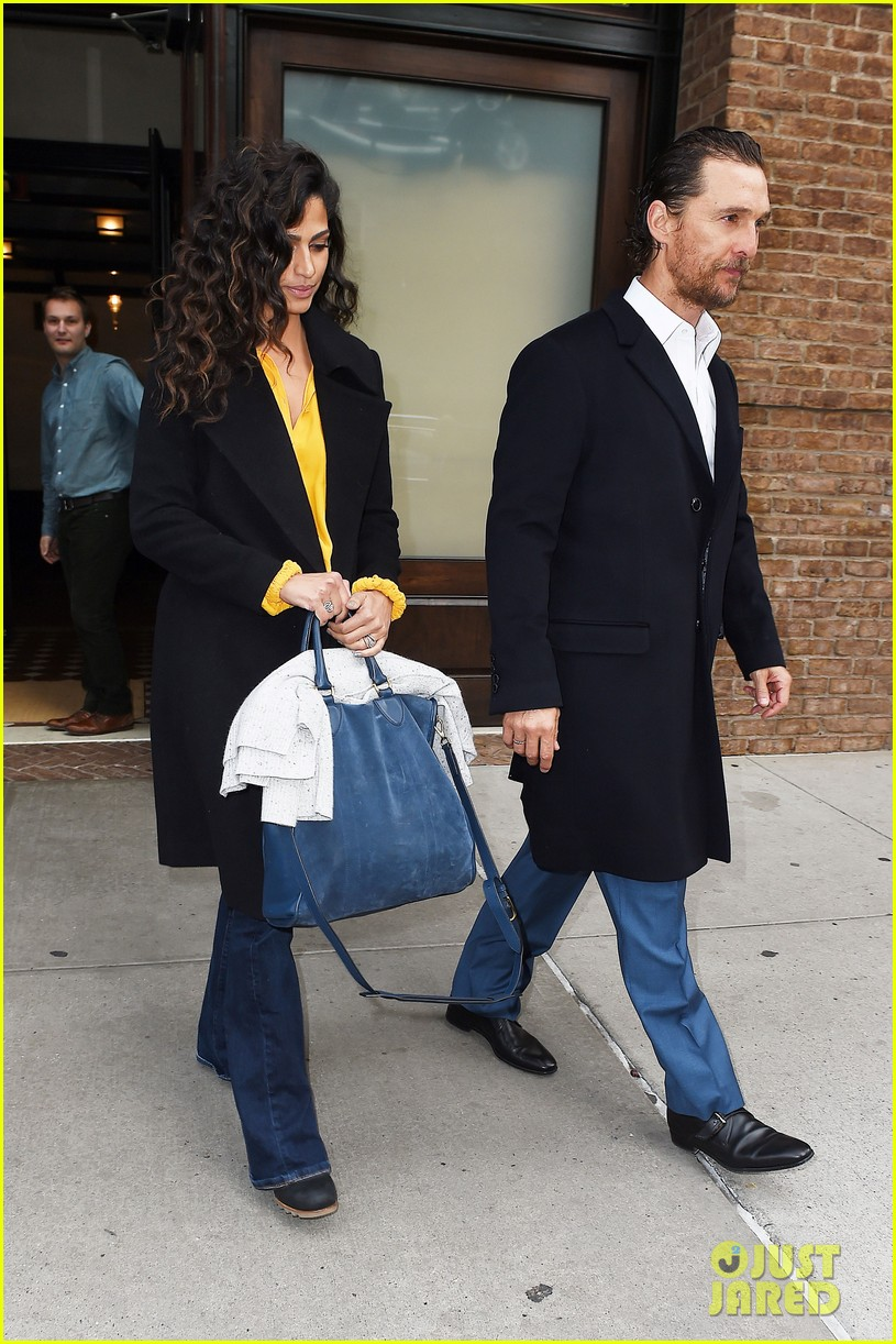 matthew mcconaughey camila alves step out for date night in nyc 173809705