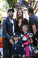 alessandra ambrosio wears bunny ears while trick or treating 09
