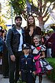 alessandra ambrosio wears bunny ears while trick or treating 12