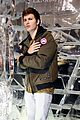 ansel elgort canadian goose launch nyc 01