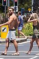 jai courtney looks so hot while shirtless with girlfriend mecki dent 05