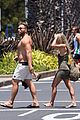 jai courtney looks so hot while shirtless with girlfriend mecki dent 09