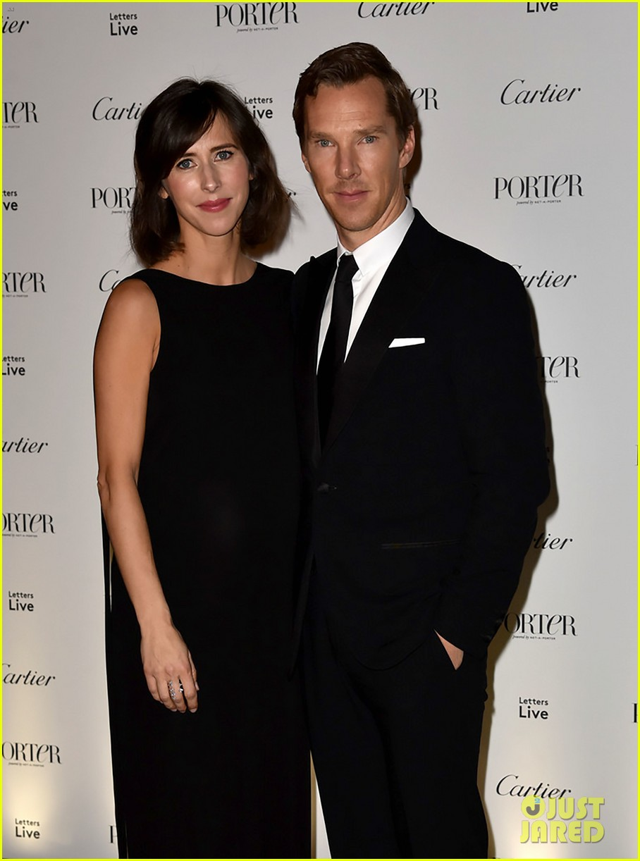 benedict cumberbatch pregnant wife sophie hunter celebrate incredible women at porter 023817945