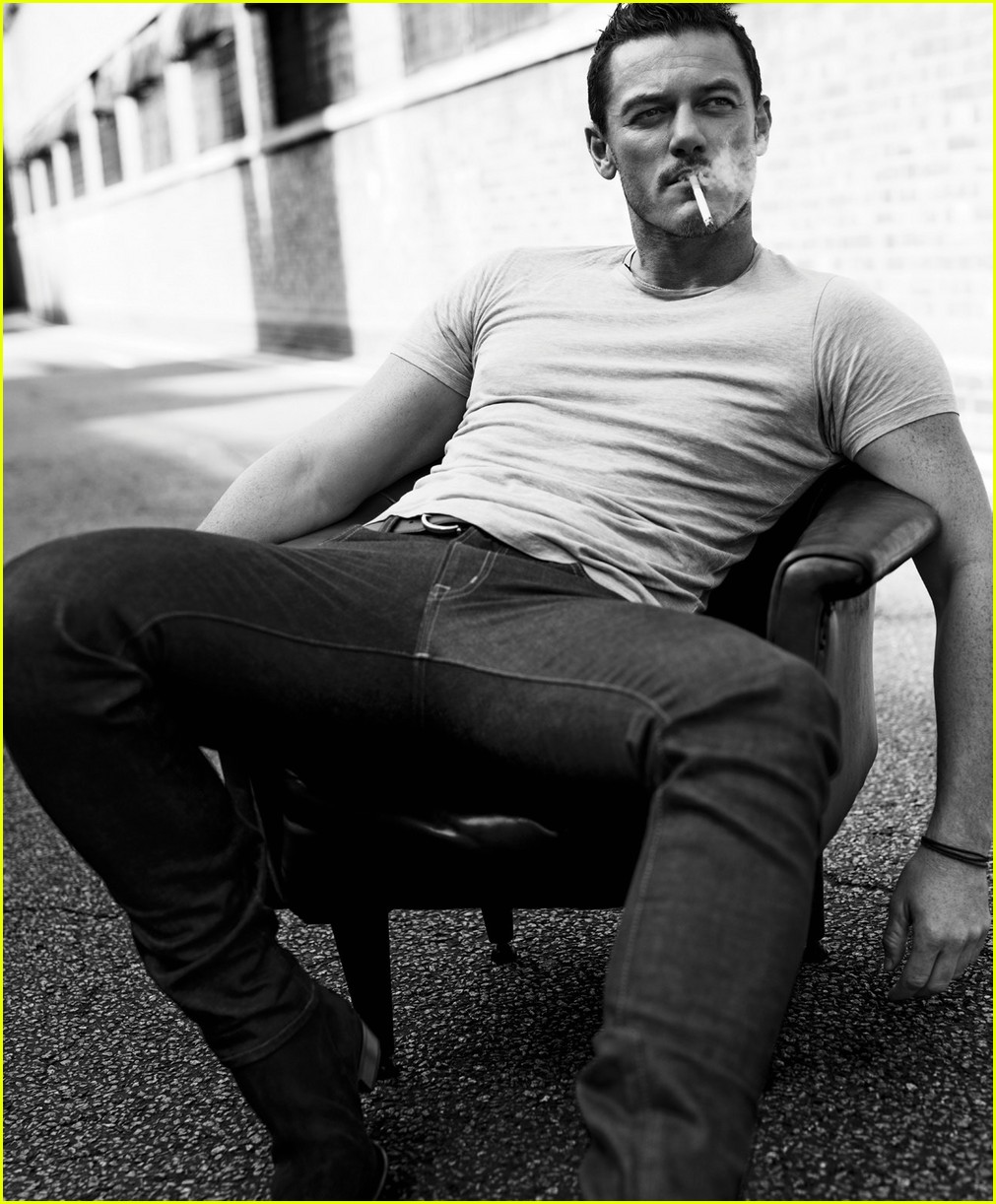 Luke Evans Looks So Sexy for Essential Homme Photo Shoot