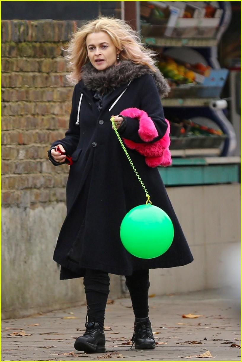 Helena Bonham Carter Is Still Rocking Her Blonde Hair