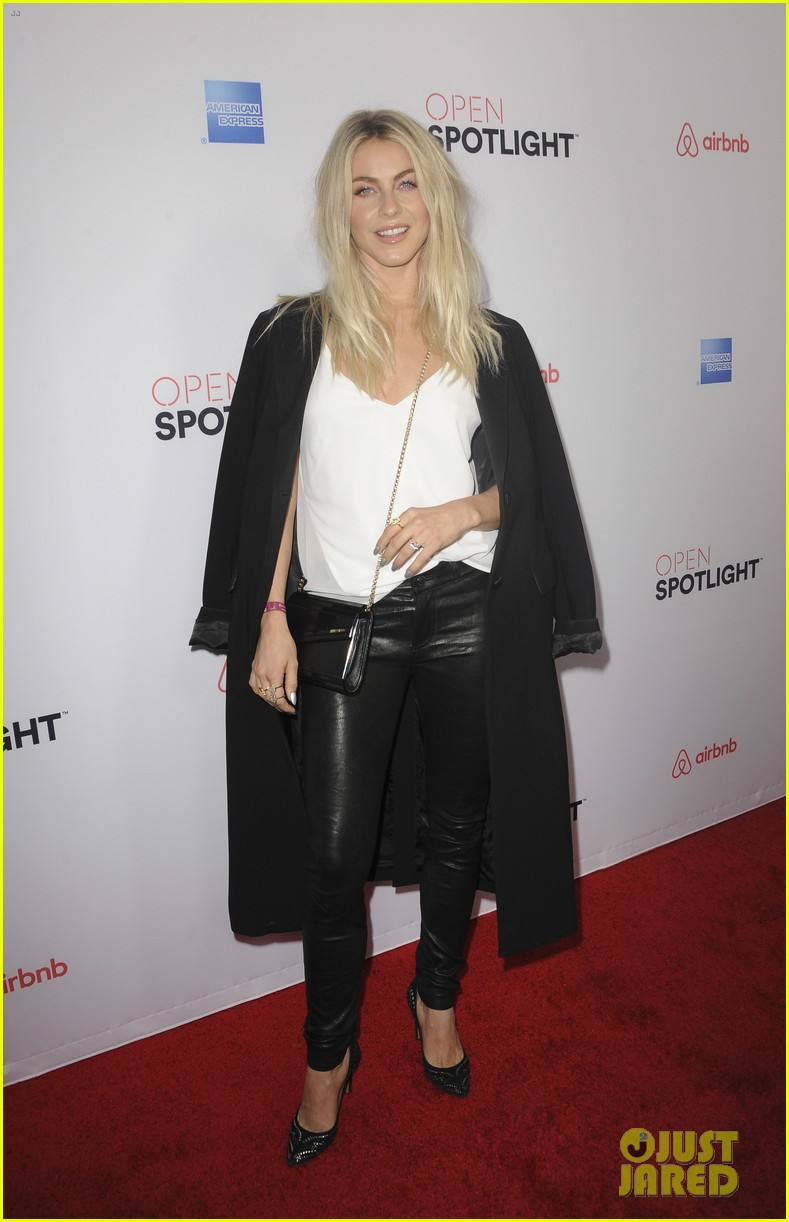 julianne hough ireland baldwin attend airbnb open spotlight 173812479