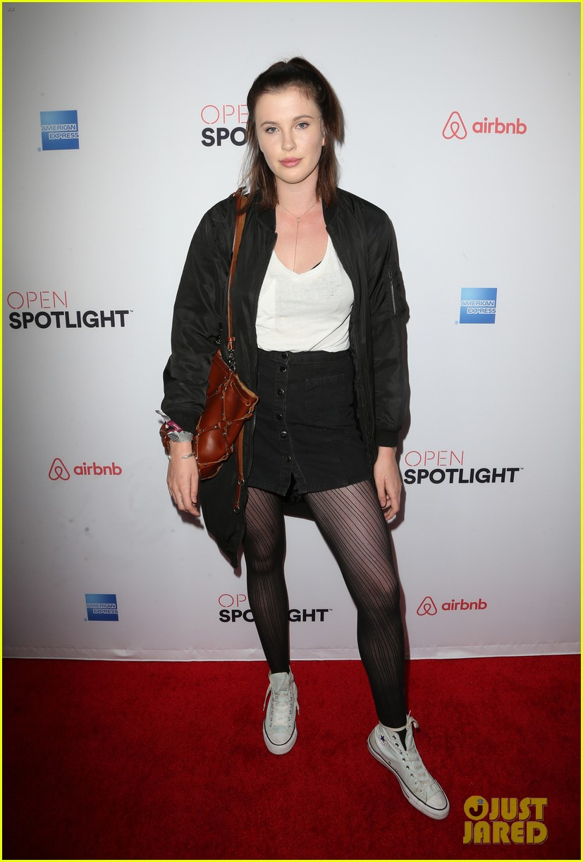 julianne hough ireland baldwin attend airbnb open spotlight 413812503