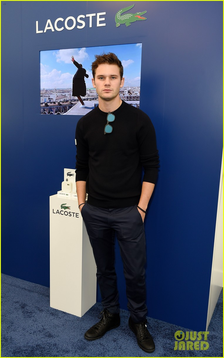 jeremy irvine matthew lewis hit up lacoste vip lounge 043808345
