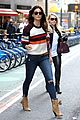 adriana lima martha hunt and lily aldridge step out for victorias secret fittings2 12
