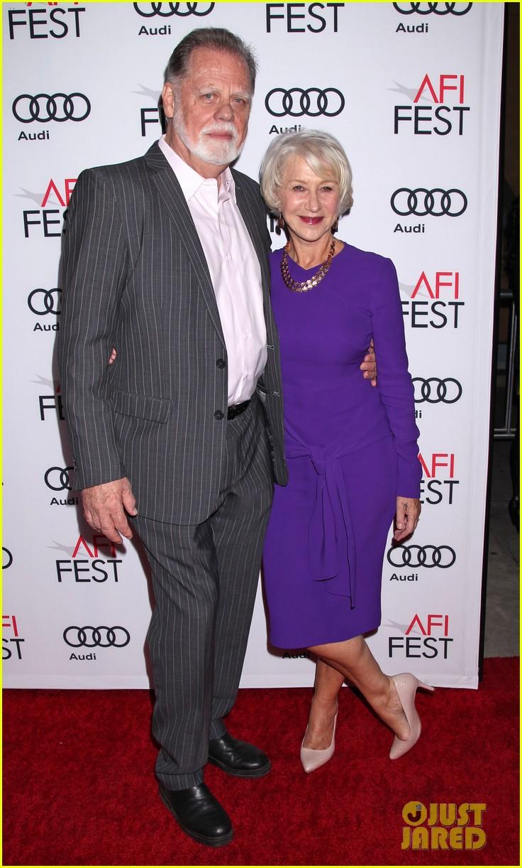 helen mirren supports her husband at his afi movie premiere 013807002