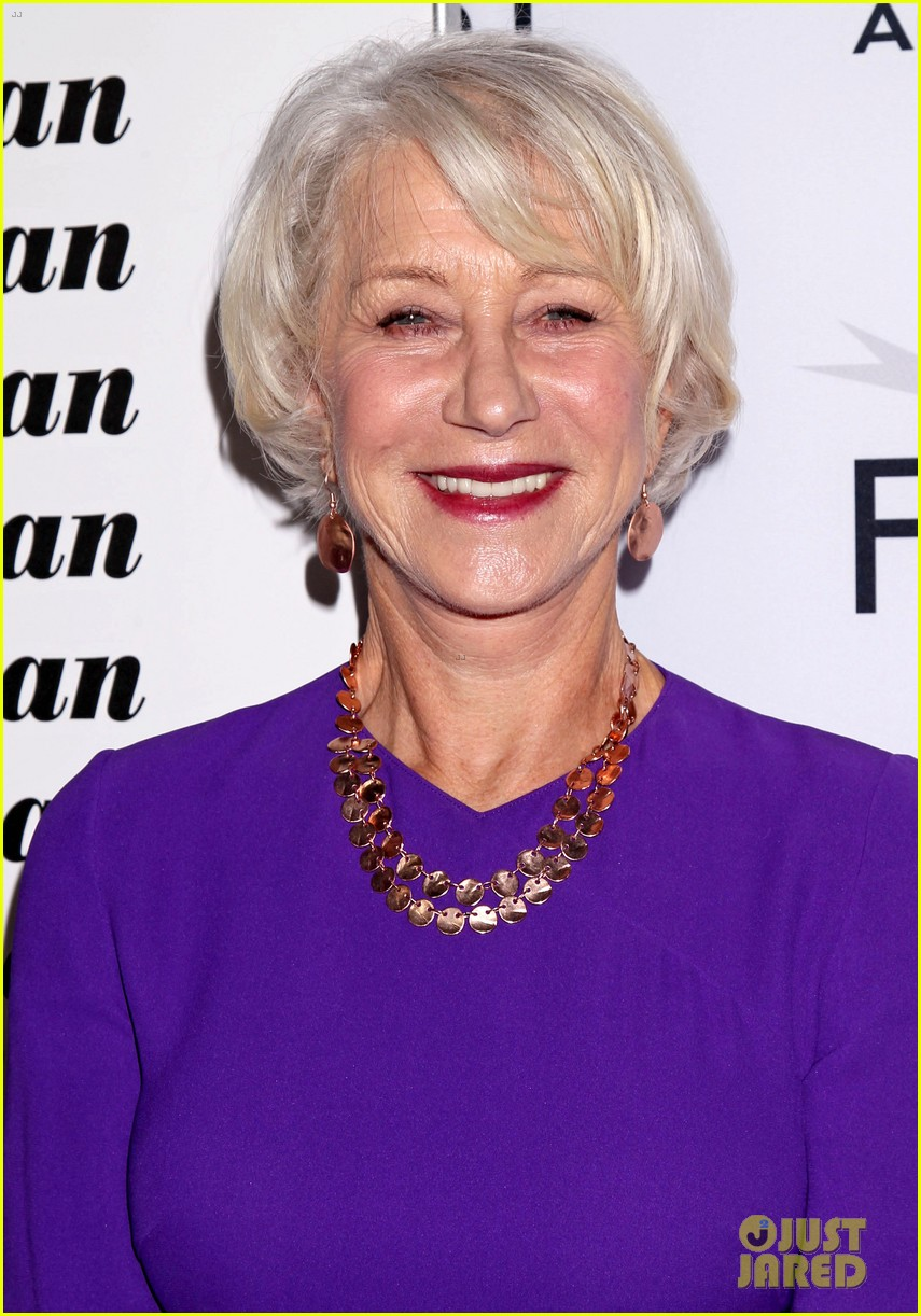 Helen Mirren Supports Her Husband at His AFI Movie Premiere
