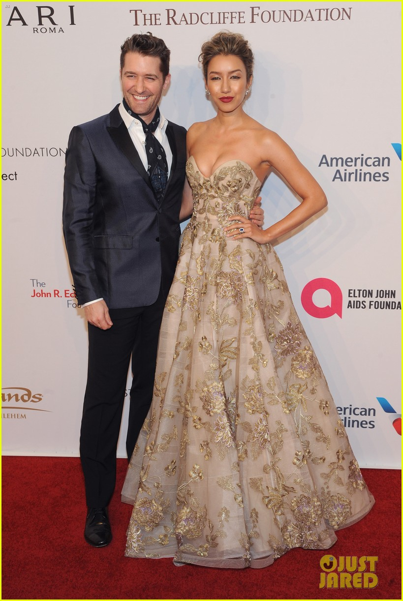 matthew morrison victorias secret models at elton john aids found 033800958