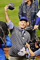 bill murray celebrates chicago cubs win 13
