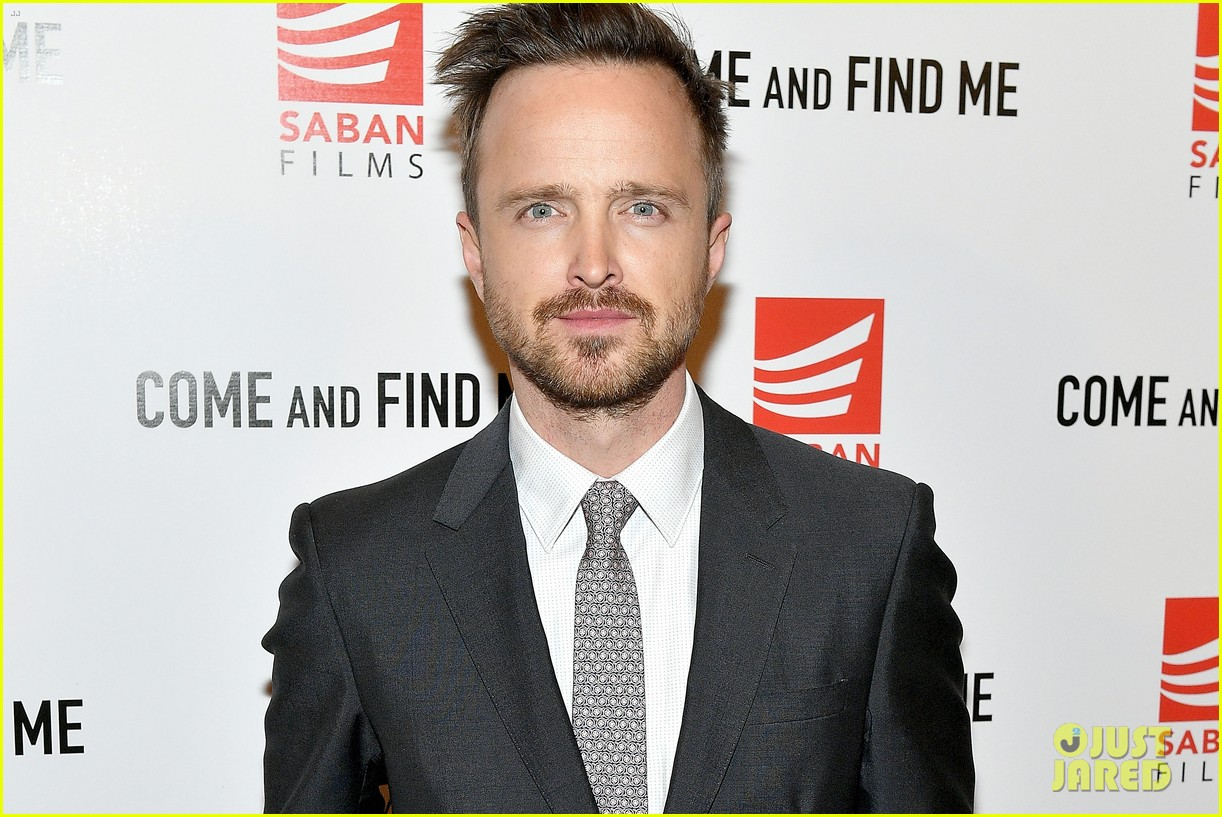 aaron paul annabelle wallis buddy up for come and find me premeire 023802054