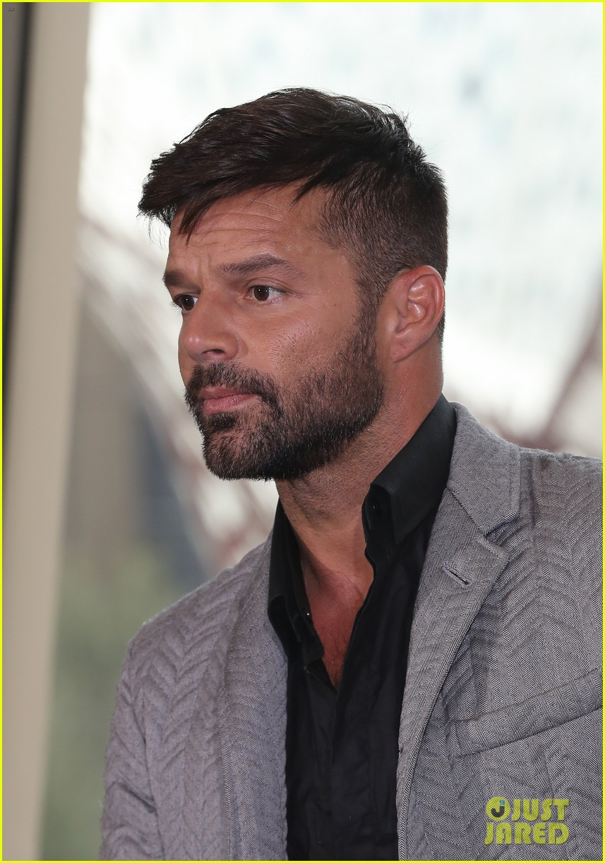 Ricky Martin Steps Out After Getting Engaged To Jwan Yosef Photo