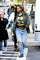 rihanna returns to the set of oceans eight 01