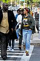 rihanna returns to the set of oceans eight 09
