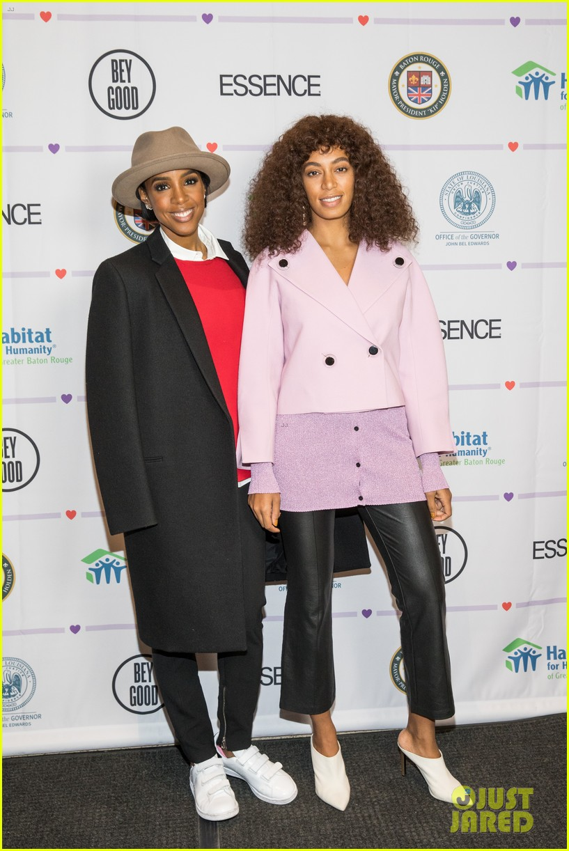 kelly rowland solange knowles team up to raise funds for louisiana flood recovery 023813293