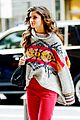 taylor hill heads to a victorias secret fashion show fitting 04