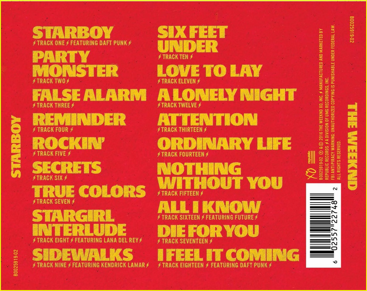 The Weeknd Drops Party Monster I Feel It Coming Lyrics Download