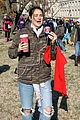 shailene woodley goes live during standing rock march 01