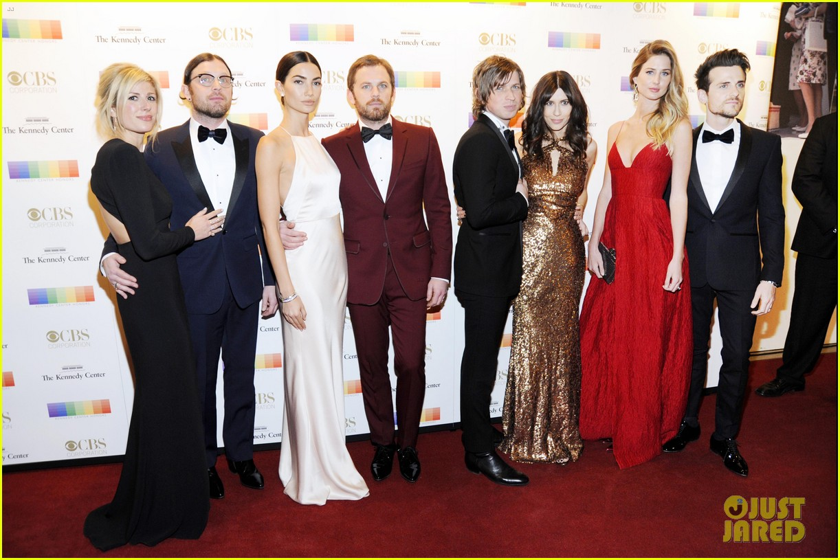 lily aldridge kings of leon rock red carpet at 2016 kennedy center honors 033821256