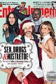 jennifer aniston office christmas party ew cover