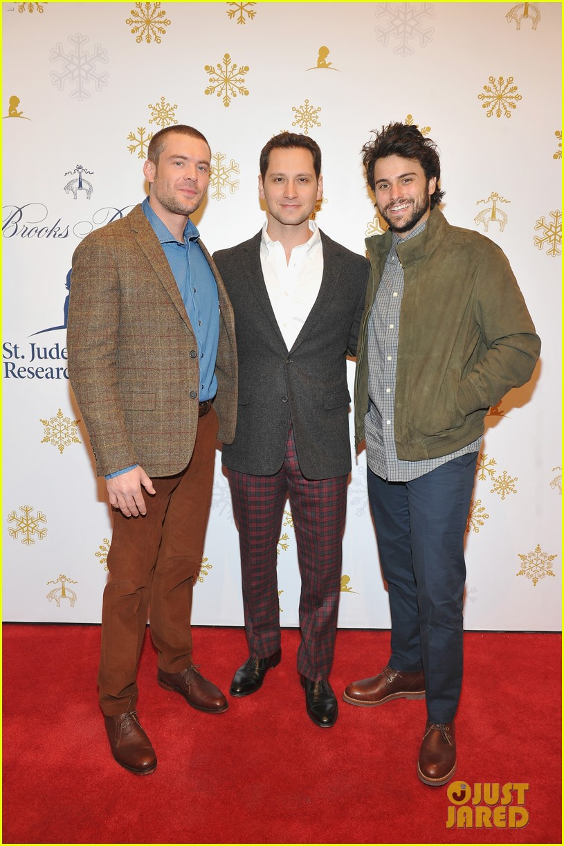 camilla belle jaime king buddy up at brooks brothers holiday event 023820886