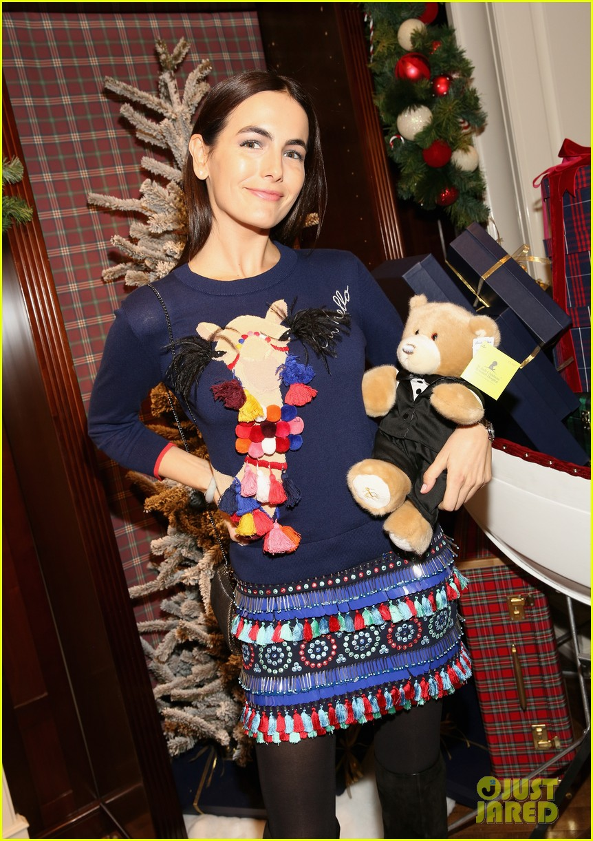 camilla belle jaime king buddy up at brooks brothers holiday event 033820887