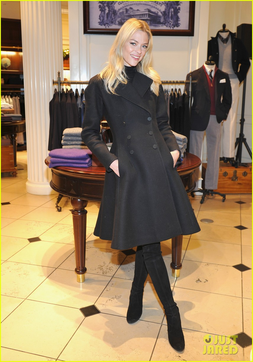camilla belle jaime king buddy up at brooks brothers holiday event 053820889