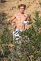 justin bieber goes shirtless for afternoon jog 19