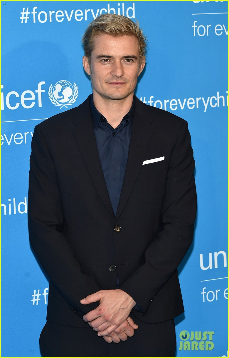 orlando bloom praises girlfriend katy perry for work with unicef shes amazing 043827193