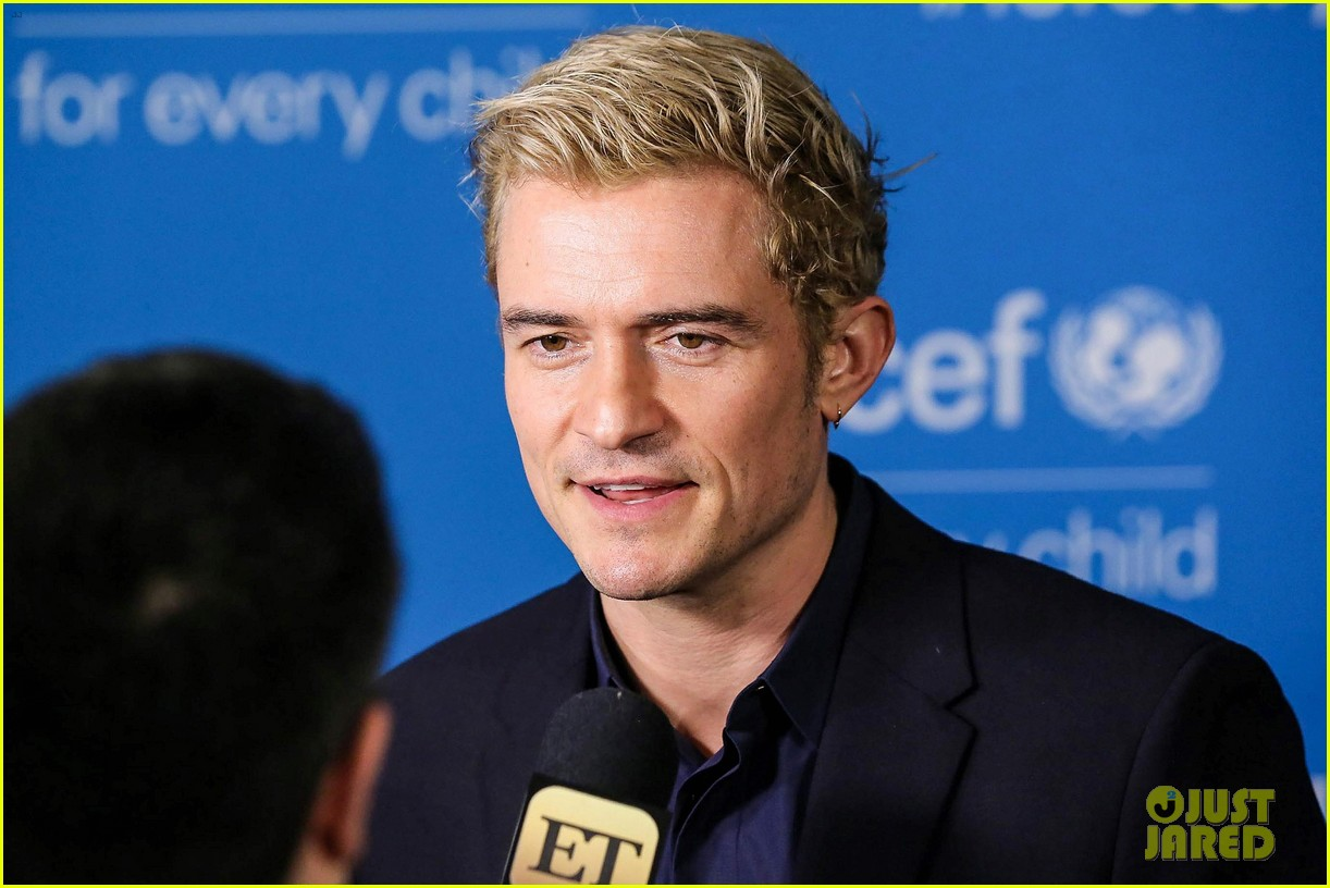 orlando bloom praises girlfriend katy perry for work with unicef shes amazing 093827198