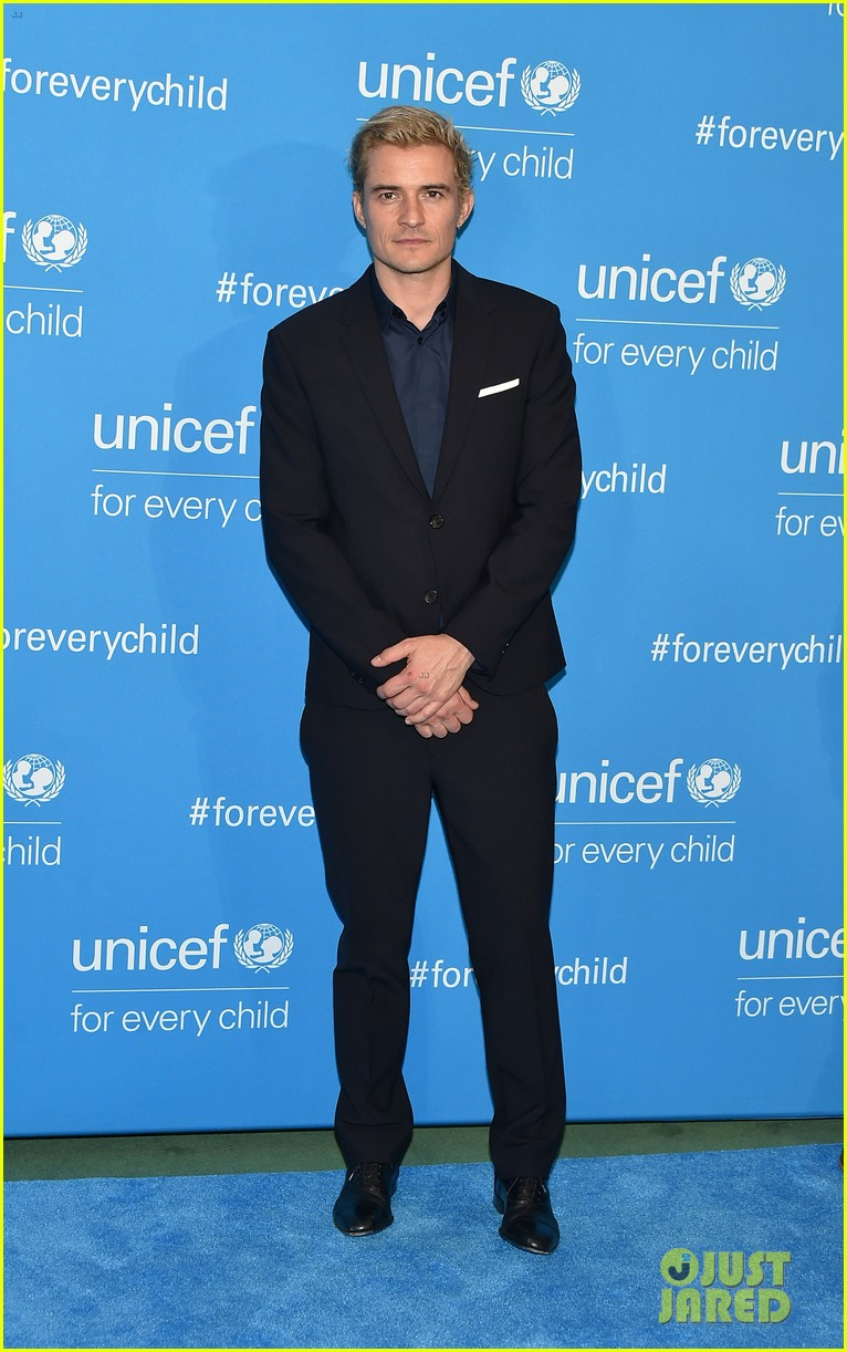 orlando bloom praises girlfriend katy perry for work with unicef shes amazing 233827212