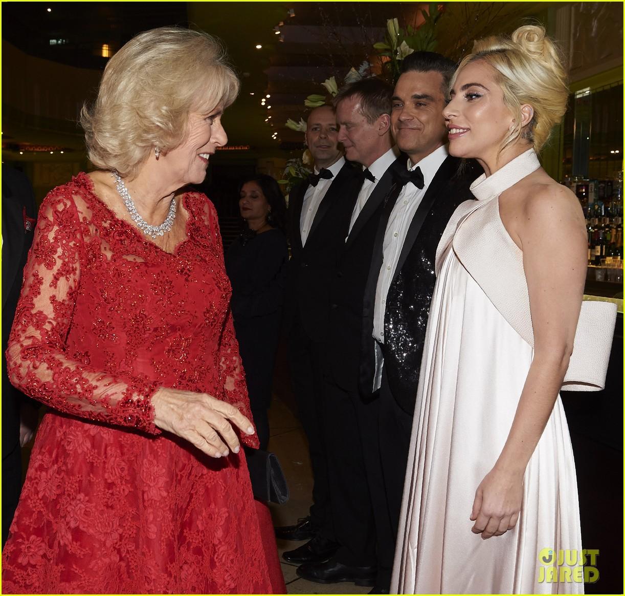lady gaga meets prince charles at royal variety performance in london 013822728