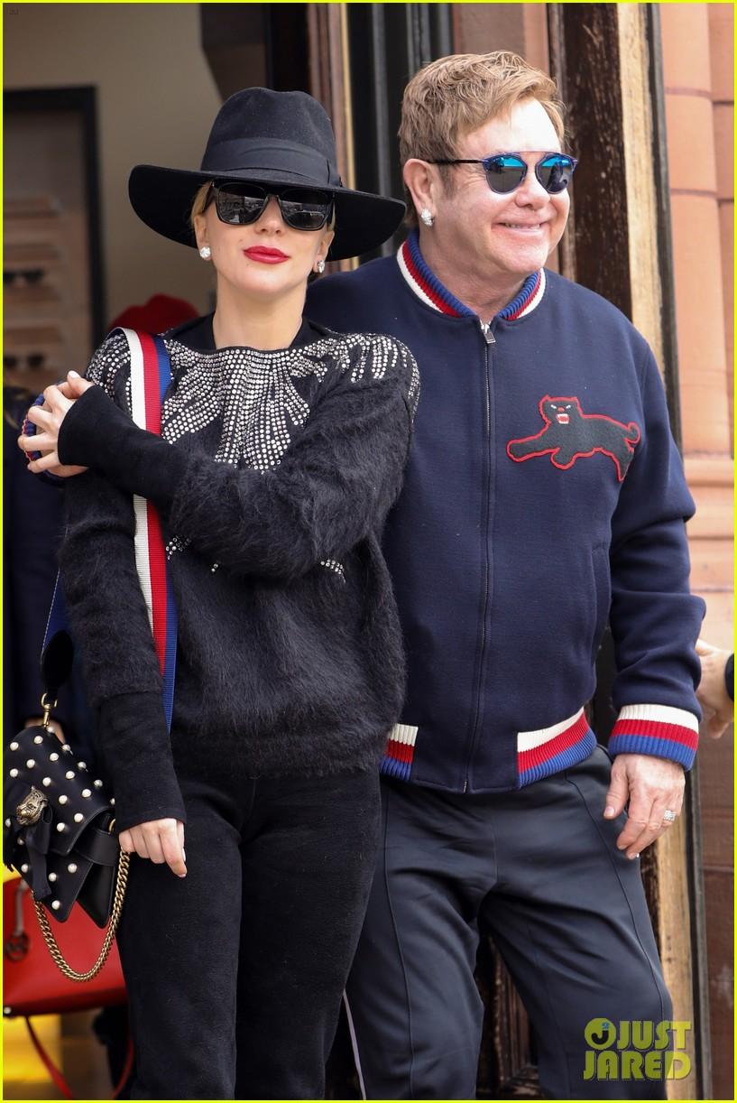 Lady Gaga & Elton John Are Spending Christmas Together in Aspen ...