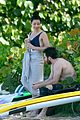 jake gyllenhaal goes shirtless in st barts takes surfing lesson 28
