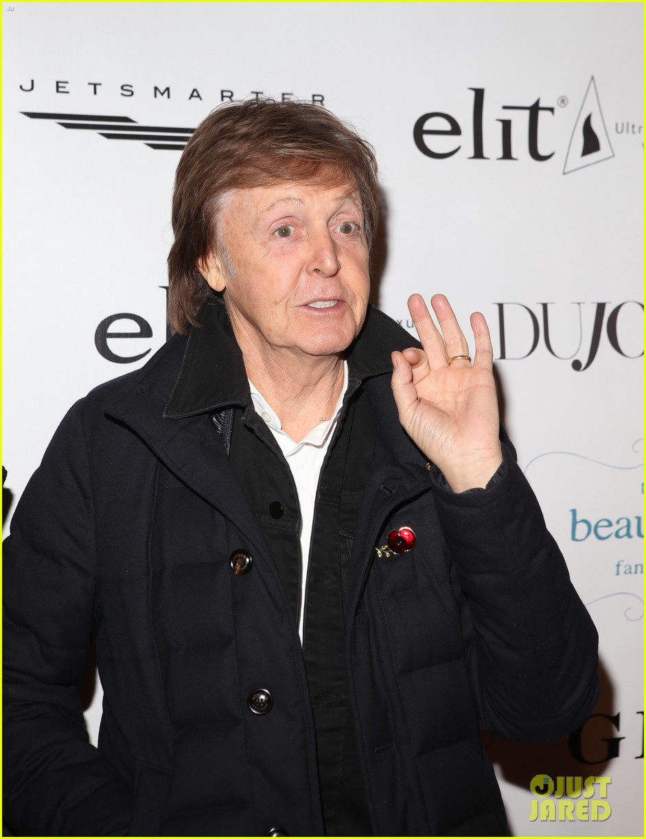 Paul McCartney Nancy Shevell Support Son In Law Simon Aboud At NYC Screening