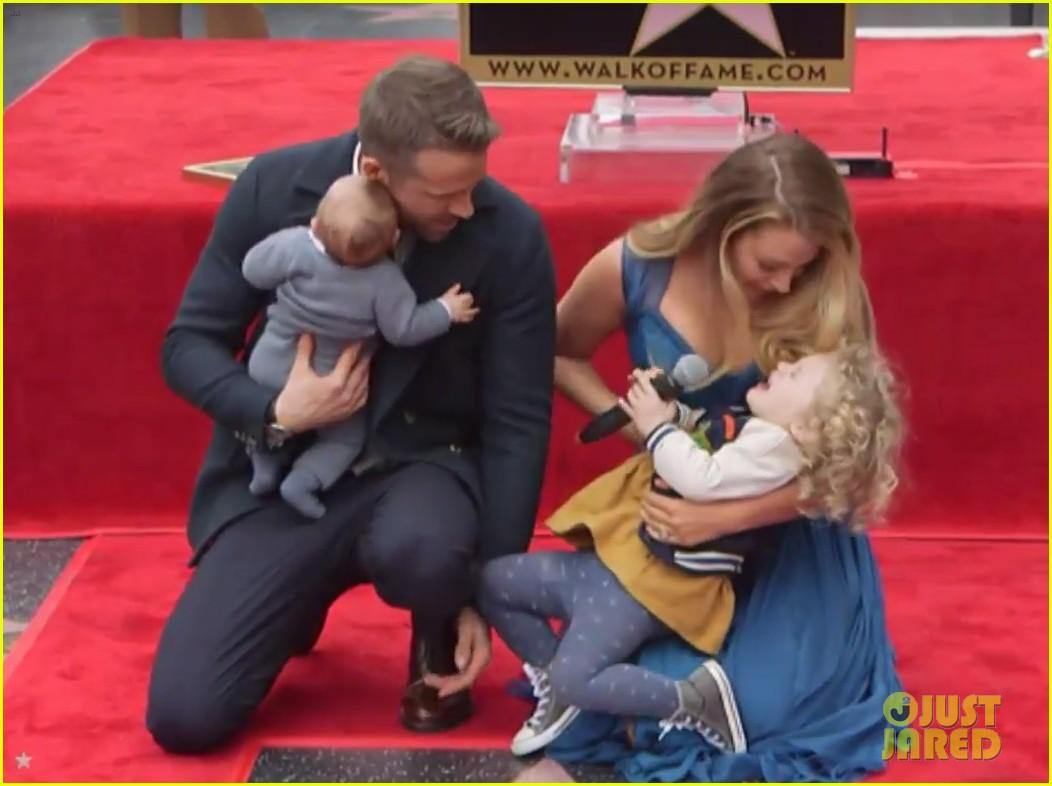 Full Sized Photo of ryan reynolds blake lively kids debut ... Blake Lively And Ryan