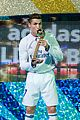 cristiano ronlado celebrates real madrid fifa win 01