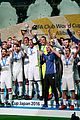 cristiano ronlado celebrates real madrid fifa win 09