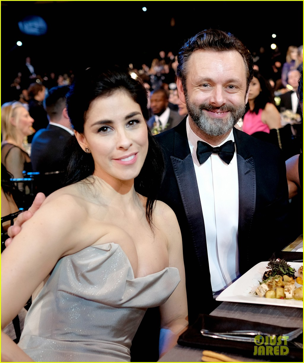 michael sheen quit acting for politics girlfriend sarah silverman approves 053829819