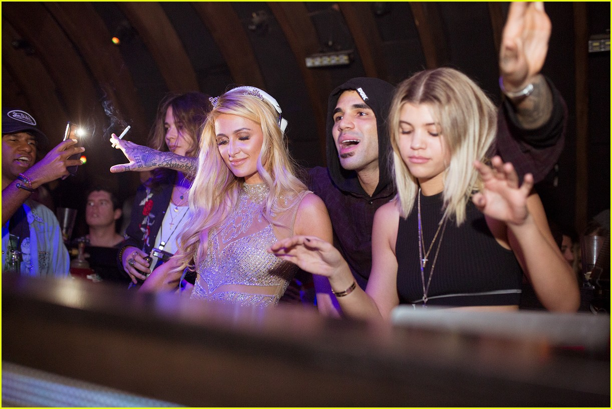 jaden smith and sofia richie attend galore magazines cover party 033824897