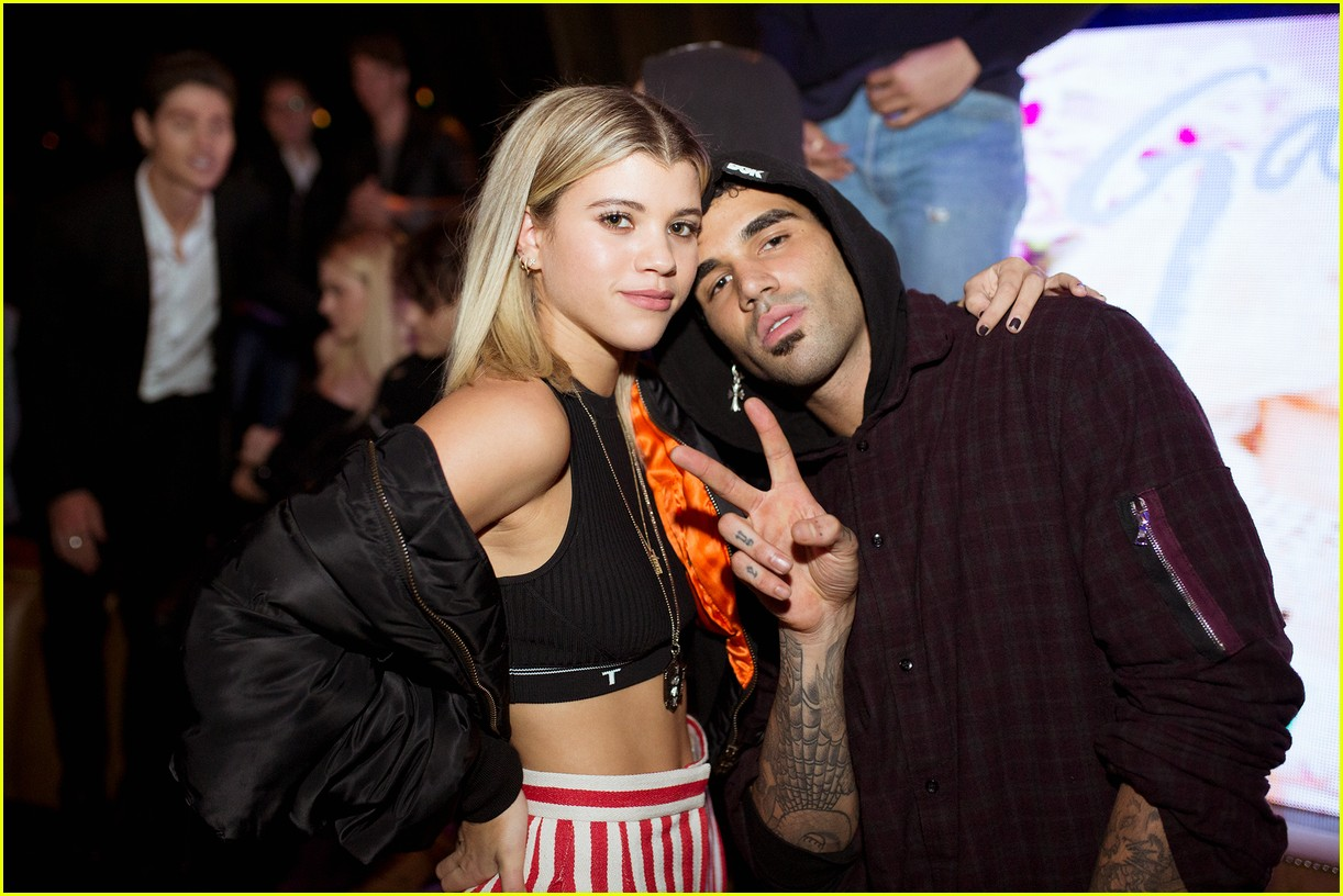 jaden smith and sofia richie attend galore magazines cover party 093824903